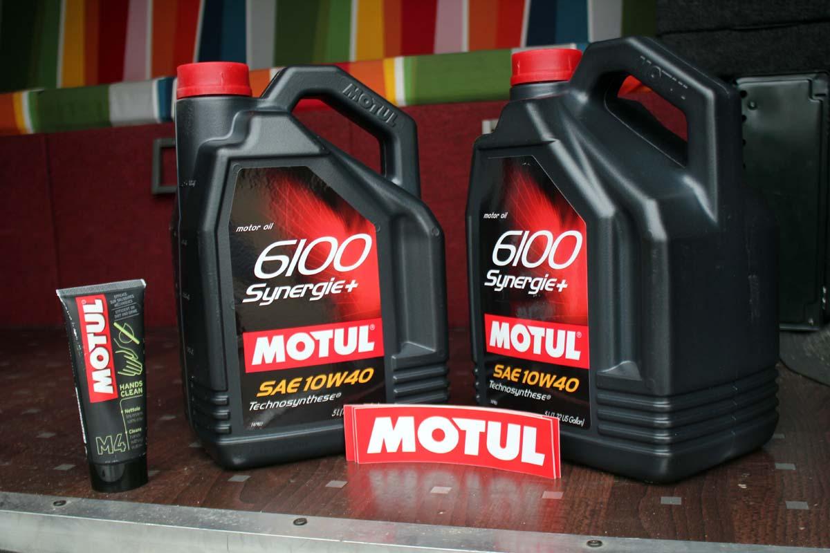 Sponsoring: Motul Öl