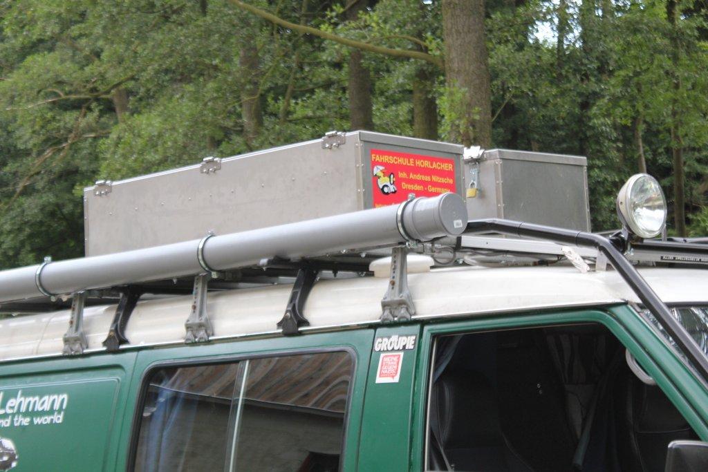 Sponsoring: Dachkisten von Edelstahl – Thomas