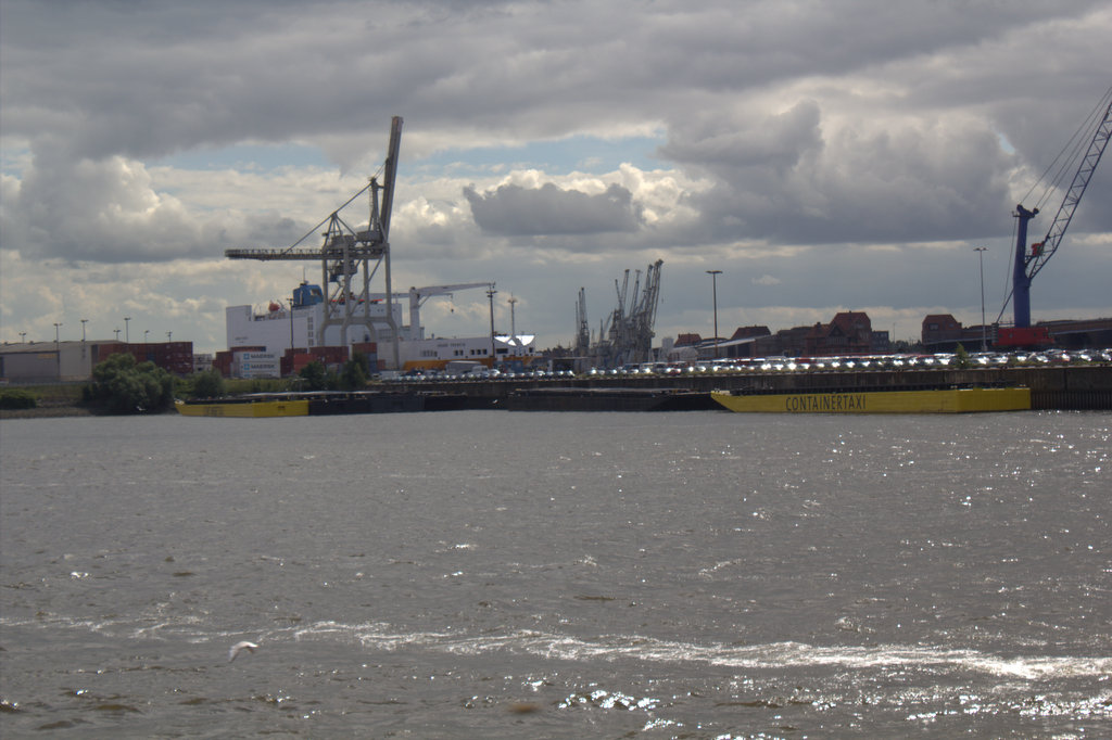 Verschiffung in Hamburg