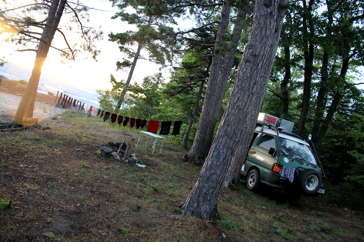 Camperparadies Lake Superior