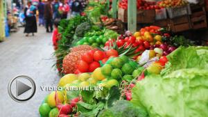 Markt in Ecuator