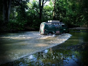 Wasserdurchfahrt Costa Rica