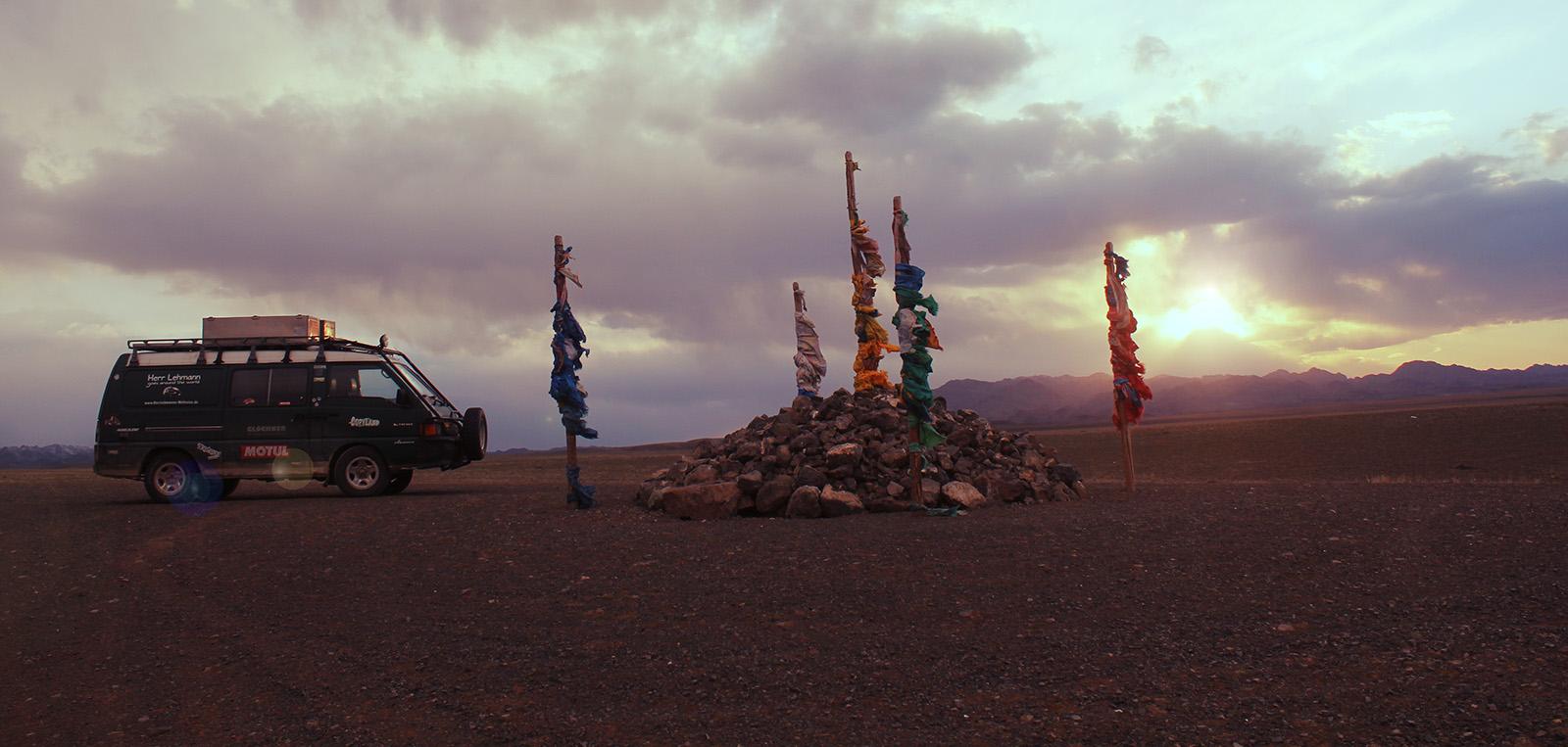 Ein Tag in der Wüste Gobi