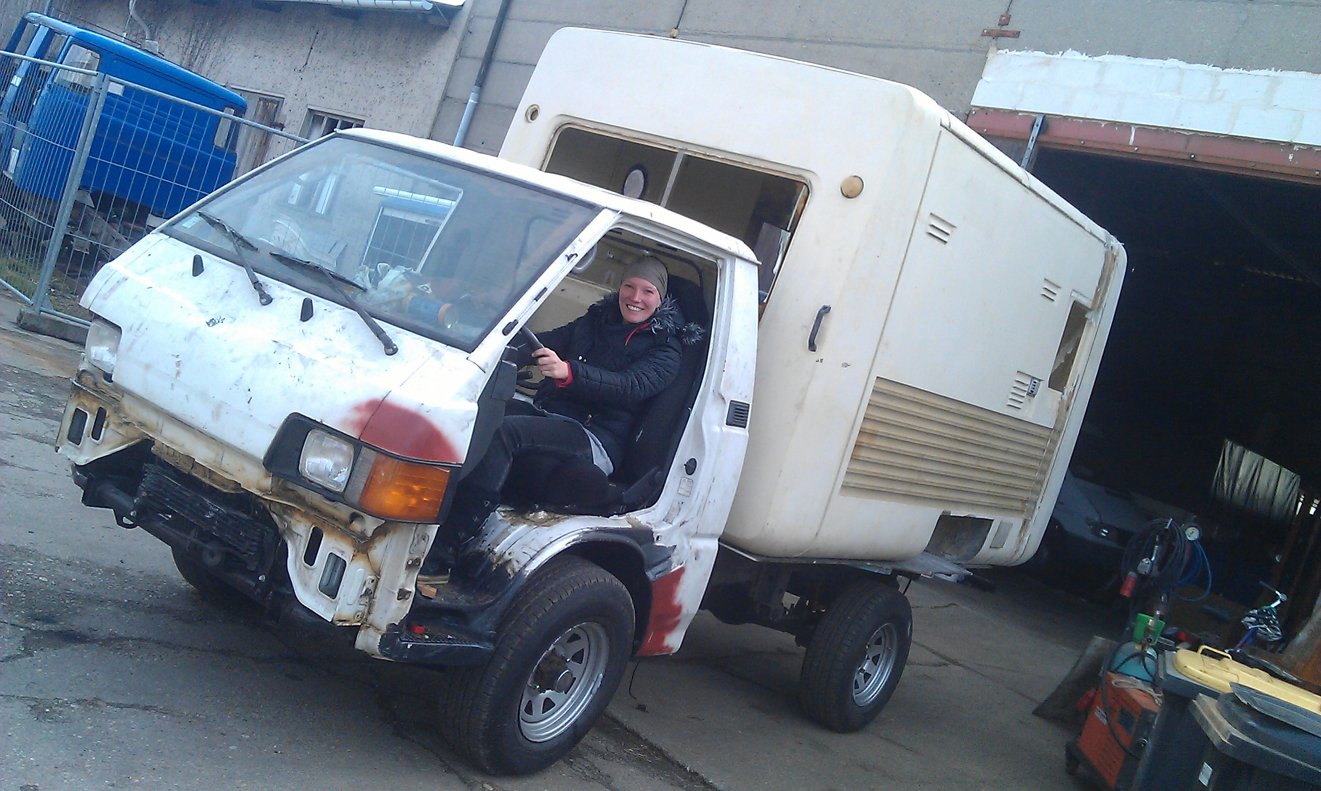 Neues Reisemobil in Arbeit – L300 4×4 Intercamp