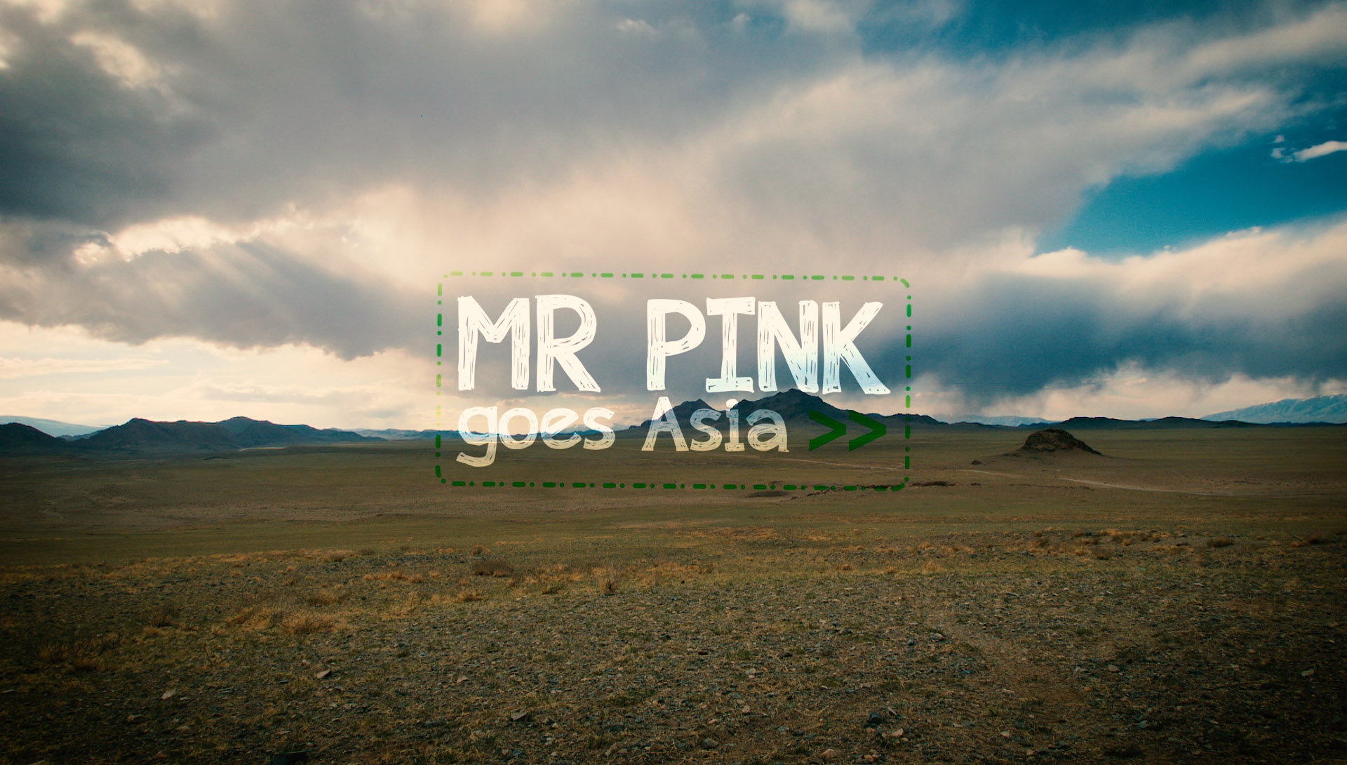 MR PINK goes Asia | TRAILER