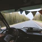 Fahrt durch Russland