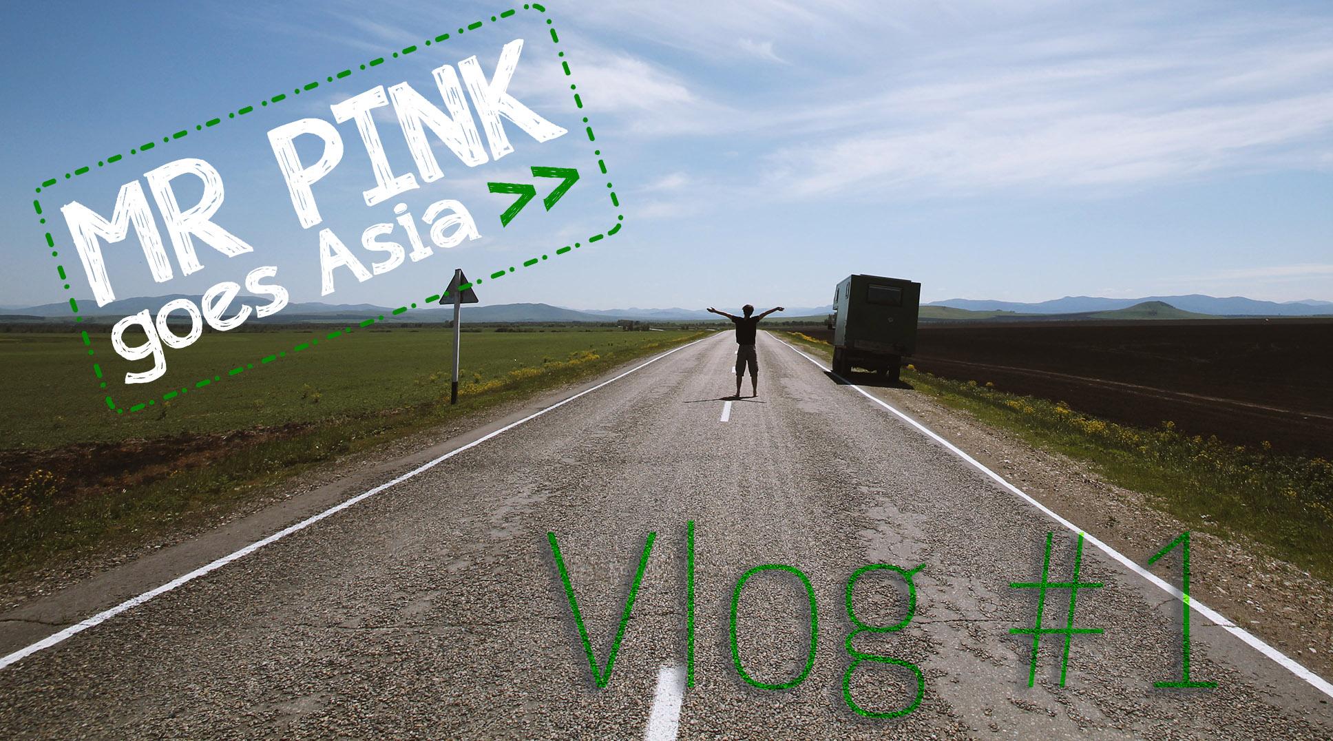 MR PINK goes Asia #1 – Der Himmel über Russland