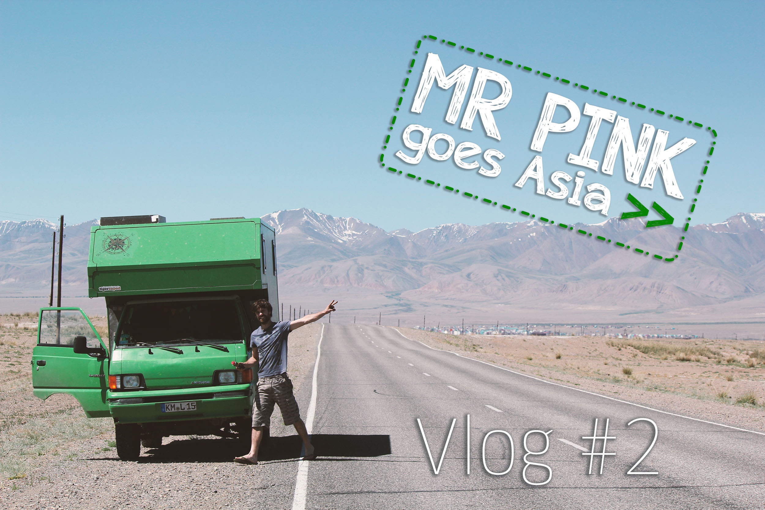 MR PINK goes Asia #2 – von Russland in die Mongolei