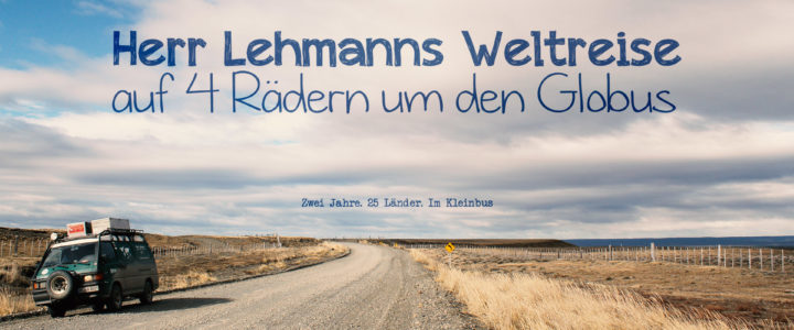 Herr Lehmanns Weltreise – auf 4 Rädern um den Globus [FULL MOVIE] [90MIN] [Roadmovie] [Vanlife Film]