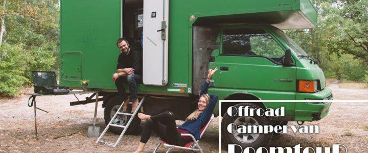 [ROOMTOUR 4×4 Offroad Campervan] // 6 qm² Selbstbau-Traum-Zuhause auf Rädern