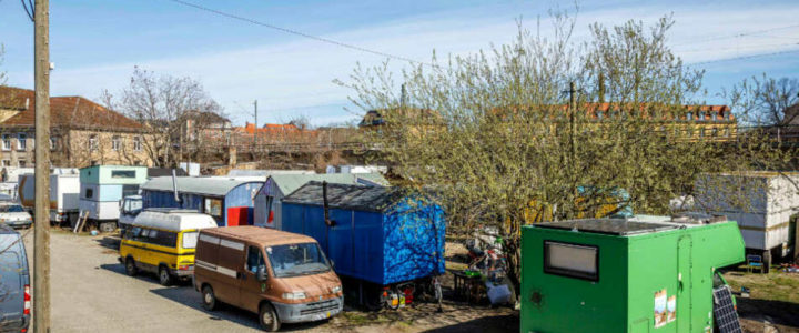 Alternative Wohnform: der Wagenplatz